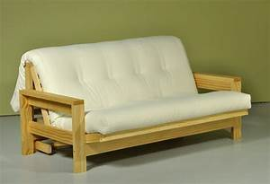 Omni futon sofa bed innature for Sofa bed no mattress