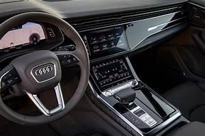 Audi Q8 Interieur : 2019 audi q8 first drive review automobile magazine ~ Medecine-chirurgie-esthetiques.com Avis de Voitures