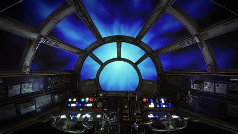 wars star falcon millennium hyperspace flying ambient