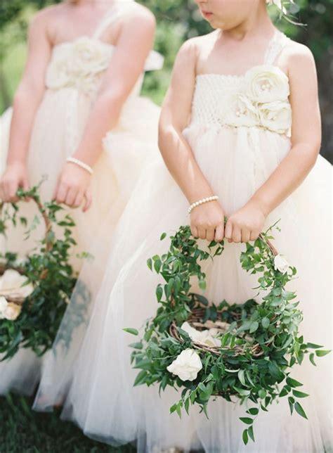 rustic romantic blush colorado ranch wedding basket