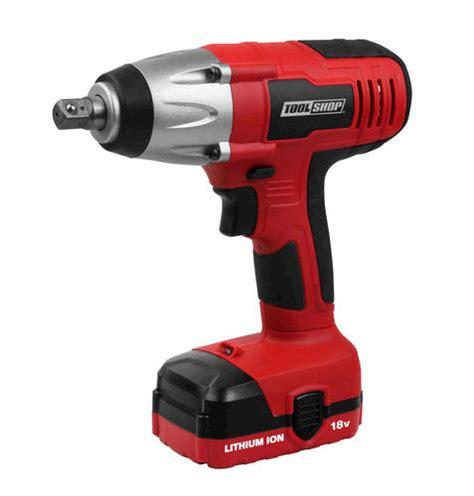 tool shop tile saw menards tool shop 174 18 volt 1 2 quot impact wrench at menards 174