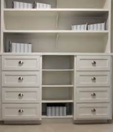 Buffet Kitchen Island Closet Storage With White Shaker Style Drawer Fronts