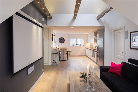 Ideas For Small One Bedroom Apartments by Small One Bedroom Modern Attic Apartment With