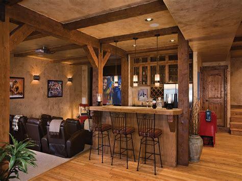 Basement Bar Design Ideas by Rustic Basement Makeovers Rustic Basement Bar Design Ideas