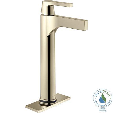 delta kitchen sink faucets delta zura single single handle vessel bathroom 6534