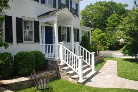 Colonial Front Porch Designs by Remarkable Images About Ranch Makeover Houses With