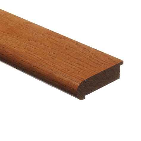 stair nose zamma butterscotch 3 4 in thick x 2 3 4 in wide x 94 in length hardwood stair nose molding