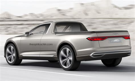 2015 Audi Prologue Allroad Imagined As A Pickup Truck