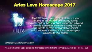 Aries 2017 Horoscope Predictions - YouTube
