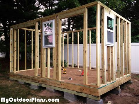 Diy Backyard Sheds by Diy Backyard Storage Shed With R And Steps Outdoor