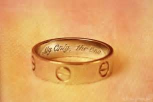 wedding ring engraving engagement ring engraving ideas the bandits