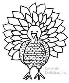 Turkey Print Out Coloring Pages
