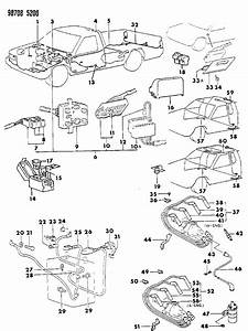 1990 Dodge Ram 50 Wiring Harness Of Electrical