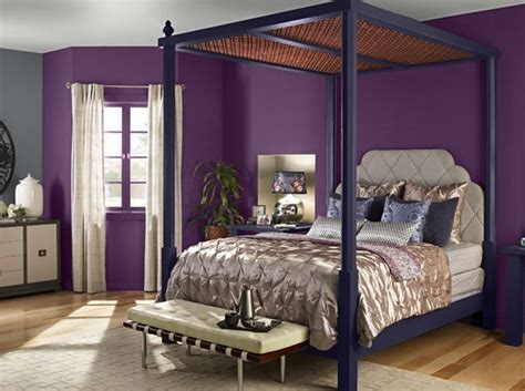purple and gold bedroom 20 pleasant purple and gold bedrooms home design lover 16815 | 20 Marquee Bedroom20