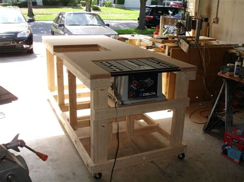 backyard workshop ultimate workbench   design