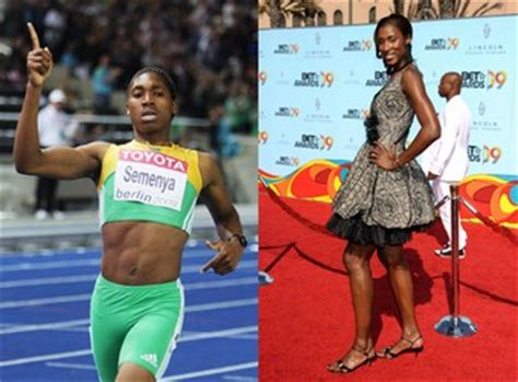 semenya  return  heros   female athletes