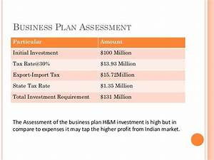Import export business plan ppt