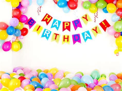happy birthday photography backdrops vinyl colorful