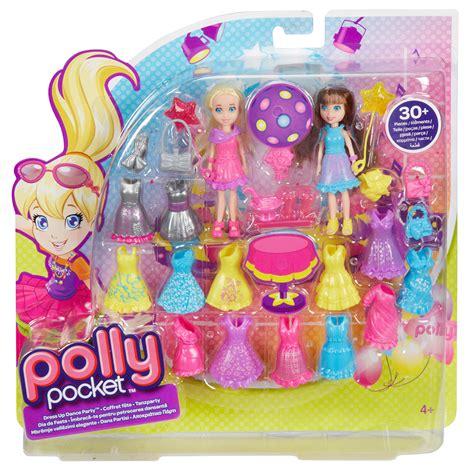 Polly Pocket  Conjunto 2 Amigas Fashion Roupa De Festa