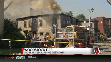 Fire Destroys Historic Woodstock Building