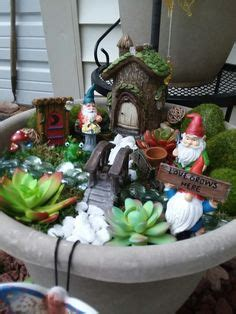 My Fairy Garden! An Inexpensive Kit Found At Family Dollar
