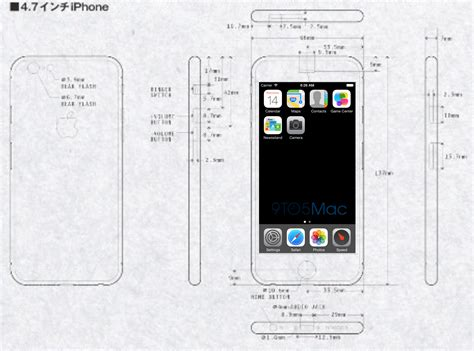 dimensions of an iphone 6 iphone 6 with larger sharper 1704 x 960 resolution screen Dimen