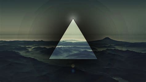 Abstract Black Triangle Wallpaper by Abstract Polyscape Triangle Wallpapers Hd Desktop And