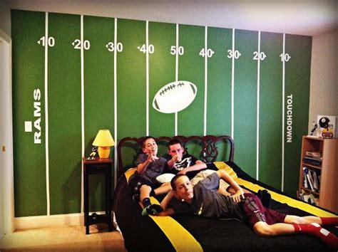 Best + Football Rooms Ideas On Pinterest