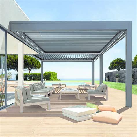 pergola bioclimatique pour terrasses soliso europe