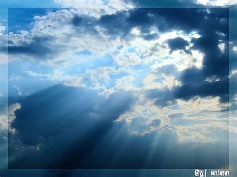 ท้องฟ้า: ท้องฟ้า เมฆฝน กับแสงแดด