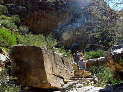 Waterfall Trail Hiking Arizona Hikes Mountains Az