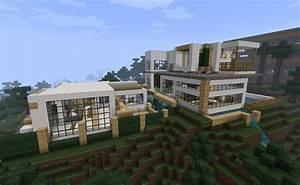 Modernism in minecraft (modern mansion) Minecraft Project