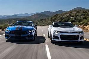 2017 Chevrolet Camaro ZL1 vs. 2017 Ford Mustang Shelby ...