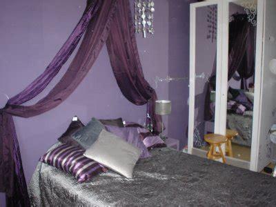 d o chambre violet gris une chambre dans les tons violet et gris d co