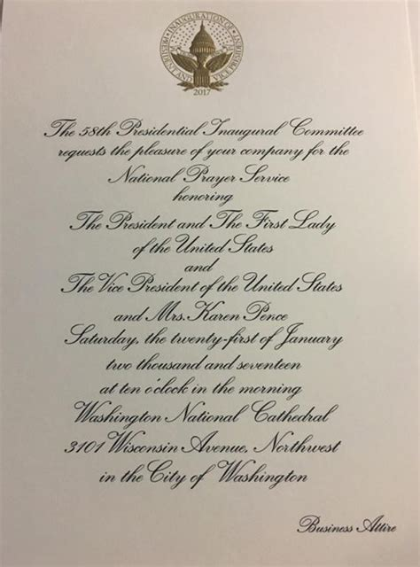 Photos Of Most Exclusive Invite — We're Going To Donald