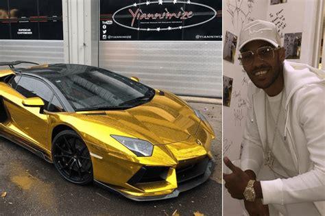Aubameyang pediu Lamborghini Aventador dourado: eis o ...