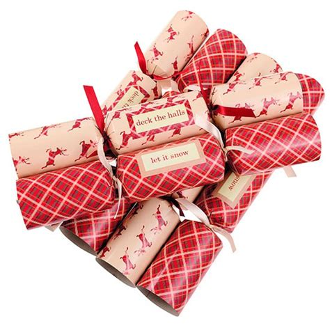 tartan and stag crackers from next christmas crackers