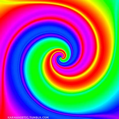 Colorful Trippy Gifs Animated Colorido Rainbow Moving