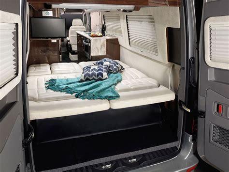 van rv airstream luxury tour camper mercedes interstate grand sprinter ext vans bed conversion camping benz interior road motorhome campers
