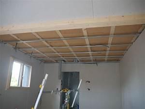 Laine De Verre Phonique : isolation phonique plafond placo isolation toiture rampant ~ Dailycaller-alerts.com Idées de Décoration