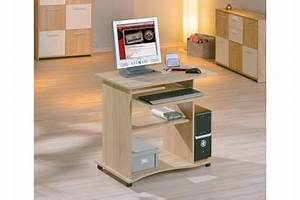 Bureau Pour Ordinateur Fixe : meubles pour ordinateur et imprimante petit bureau verre lepolyglotte ~ Teatrodelosmanantiales.com Idées de Décoration