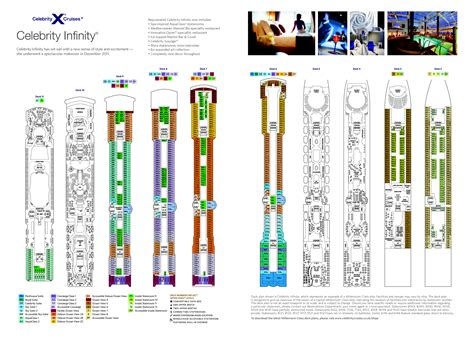 infinity deck plans 2012 clubtravel cruises infinity