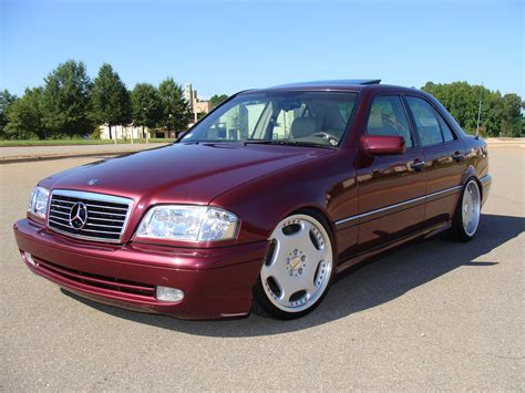 Mercedes C Class Sedan Modification by Rasputia 1996 Mercedes C Classc220 Sedan 4d Specs