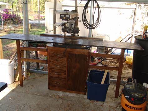 dewalt radial arm  table plans diy  plans