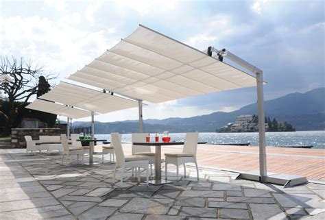 shade free standing awning patio toronto by hauser