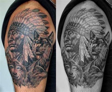 indian wolf tattoo tattoo picture  checkoutmyinkcom