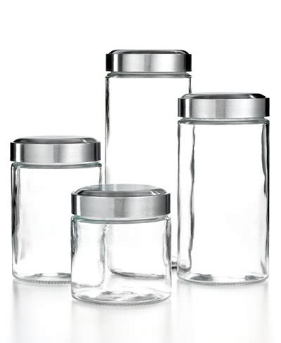 Martha Stewart Kitchen Canisters by Martha Stewart Collection Glass Food Storage Containers