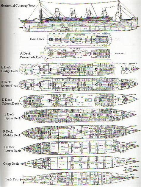 Titanic 2 Deck Plans by Titanic Deck Plans