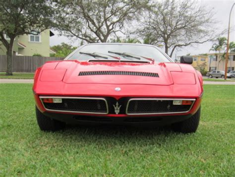 vintage maserati for sale car of the day classic car for sale 1977 maserati bora