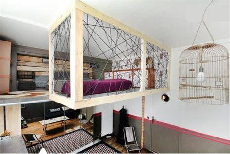 cr馥r une chambre dans un salon fabriquer une mezzanine construire une mezzanine ou un lit mezzanine monter une mezzanine sans clou ni vis d coration construire une